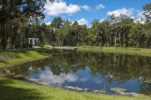 Importance of storm water retention ponds in Florida.