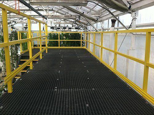 fiberglass platforms