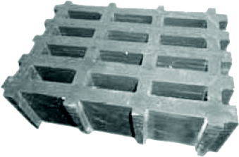high load rectangular grating