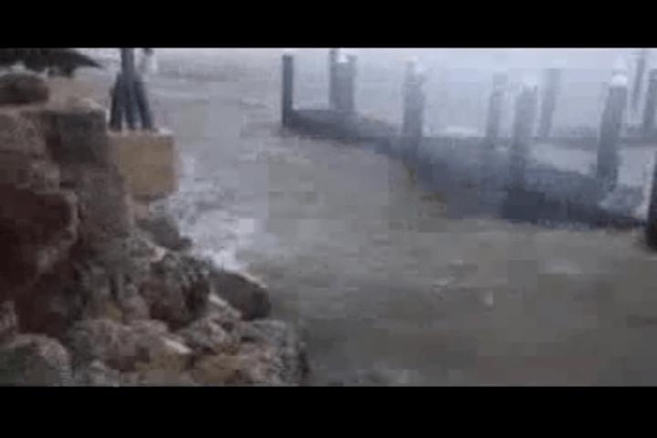 During Hurricane Irma