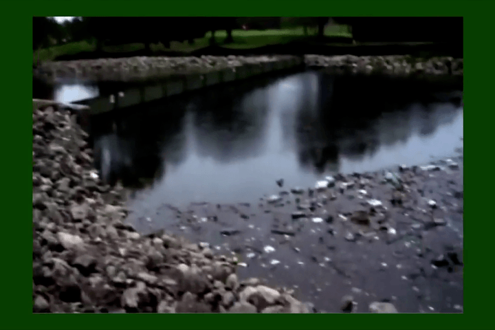 Stormwater Diverter In Action