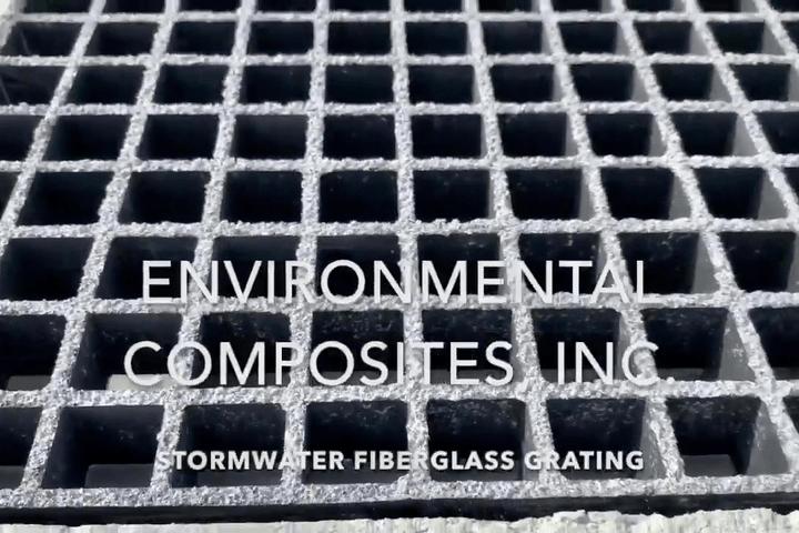 Stormwater Fiberglass Composite Grating