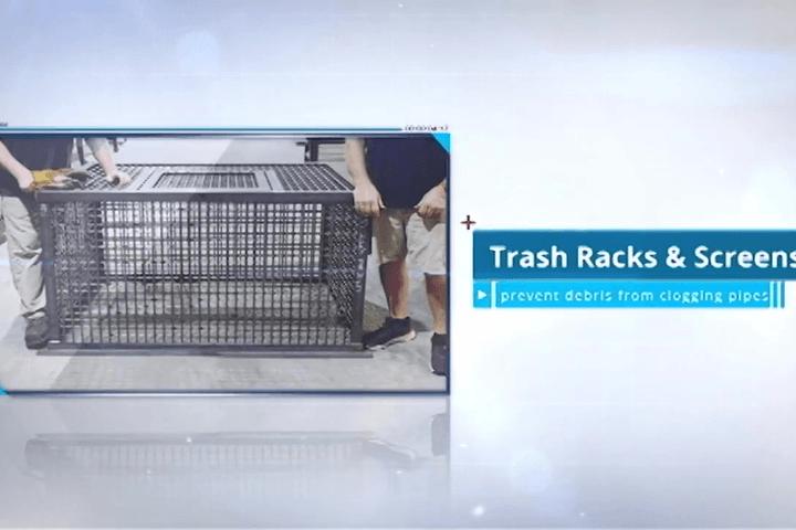 Trash Racks and Trash Screens